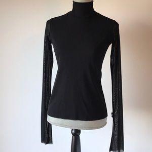 Zara Sheer Bell Sleeve